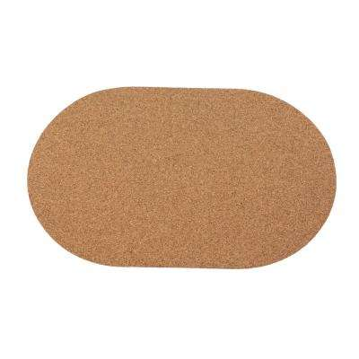 4-Piece Plate Mat Cork Set