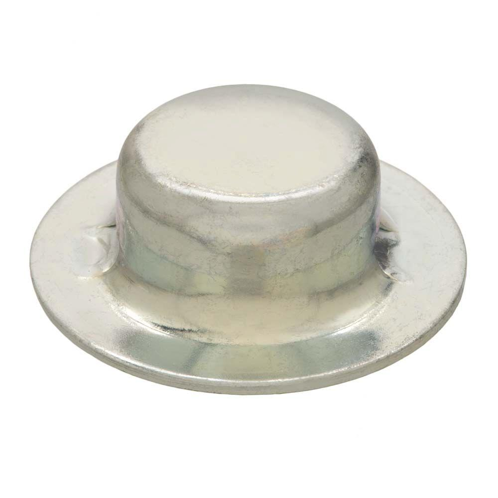 3/8 in. Zinc-Plated Steel Axle Hat Nuts (2-Pack)
