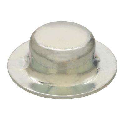 3/8 in. Zinc Plated Steel Axle Hat Nuts (2-Pack)