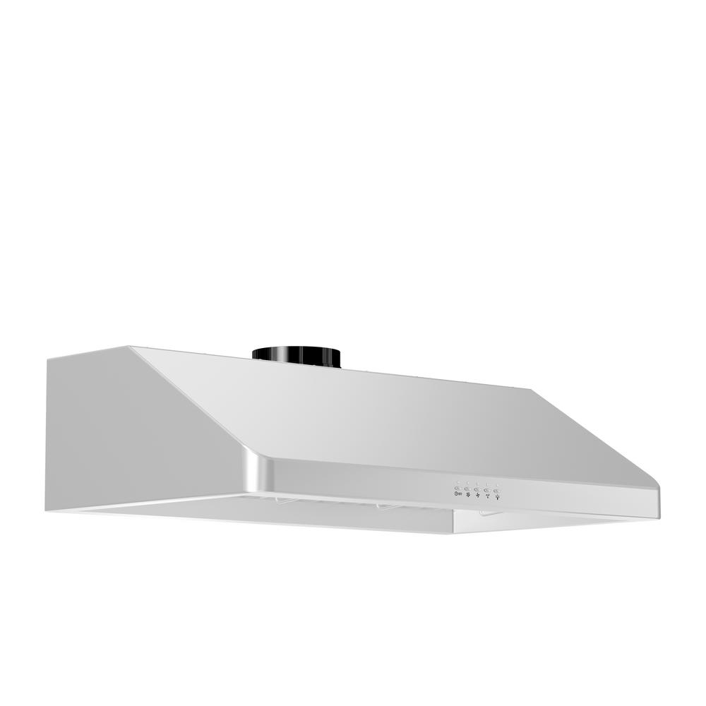 ZLINE 36 in. 900 CFM Under Cabinet Range Hood in Stainless