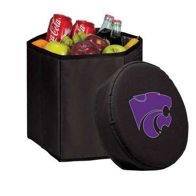 12 Qt. Kansas State Wildcats Black Bongo Cooler