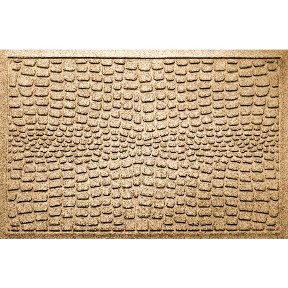Alligator Gold 24 in x 36 in Polypropylene Door Mat
