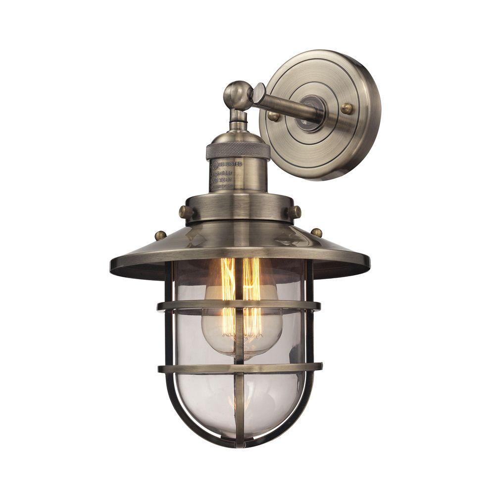 An Lighting Warehouse 1 Light Satin Nickel Pendant