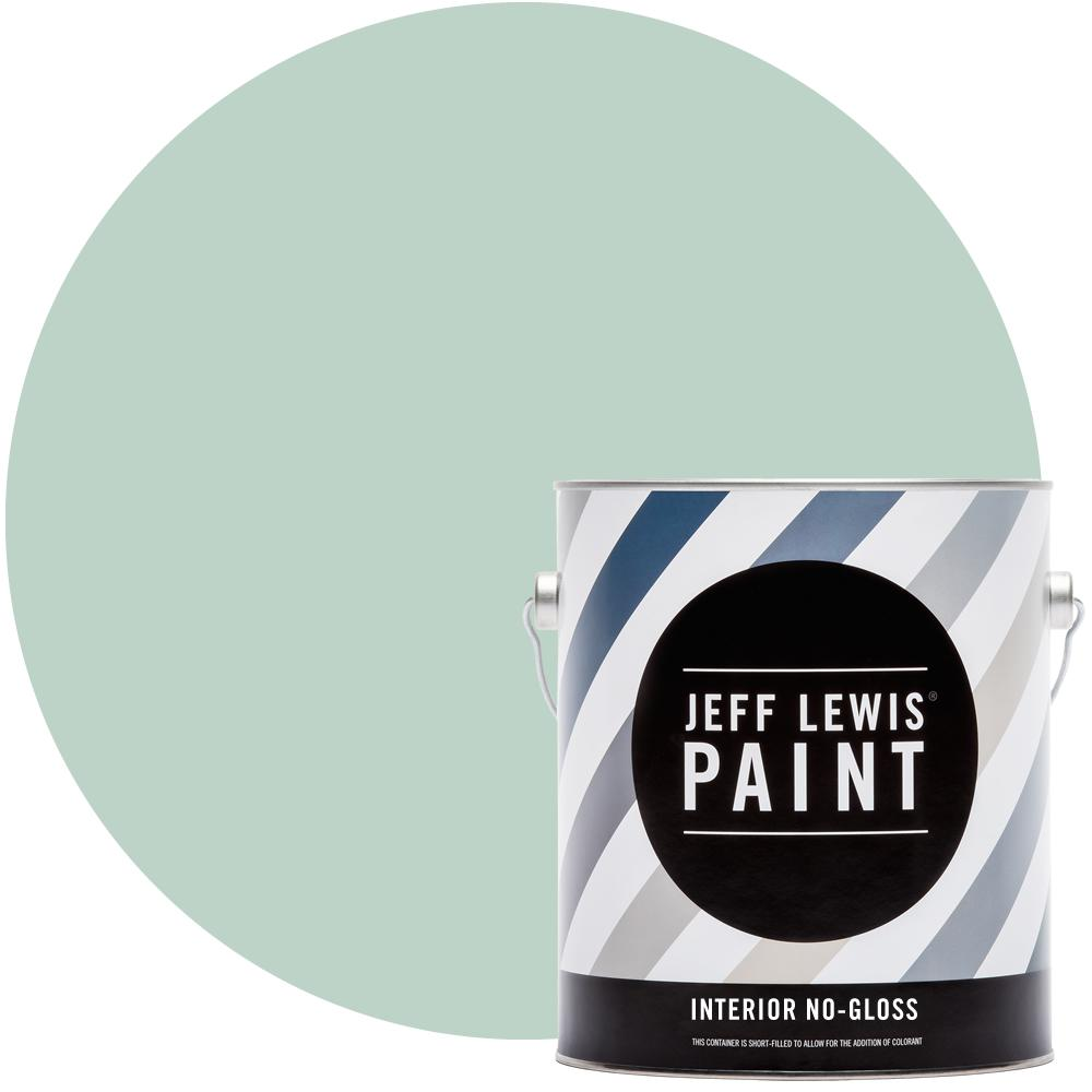 Jeff Lewis 1 gal. #513 Aloe No Gloss Interior Paint