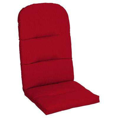 Sunbrella Spectrum Cherry Outdoor Adirondack Chair Cushion