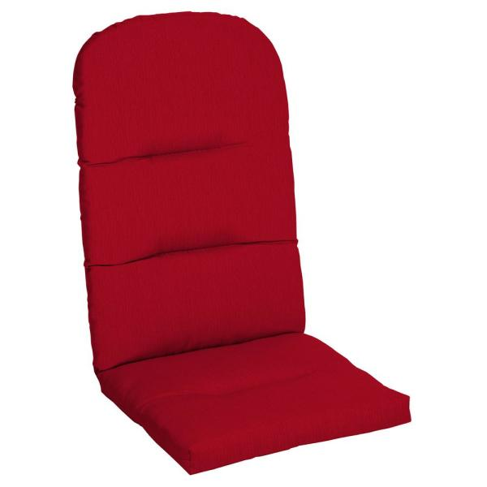 20.5 x 49 Sunbrella Spectrum Cherry Outdoor Adirondack Chair Cushion