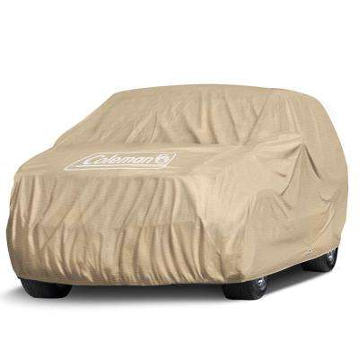 Spun-Bond PolyPro 135 GSM 225 in. x 80 in. x 63 in. Executive Beige Full Suv and Truck Cover