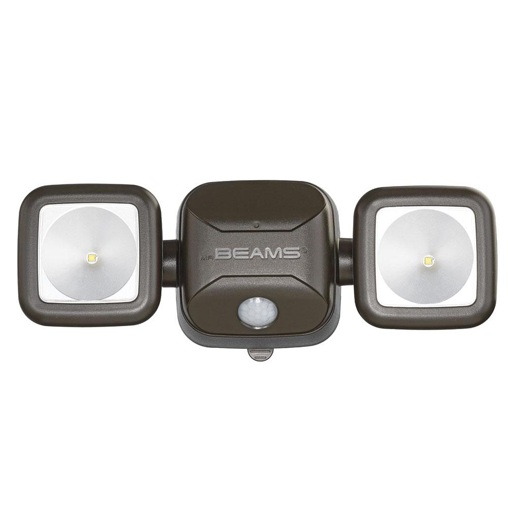Mr Beams Wireless 140 Degree Bronze Motion Activated