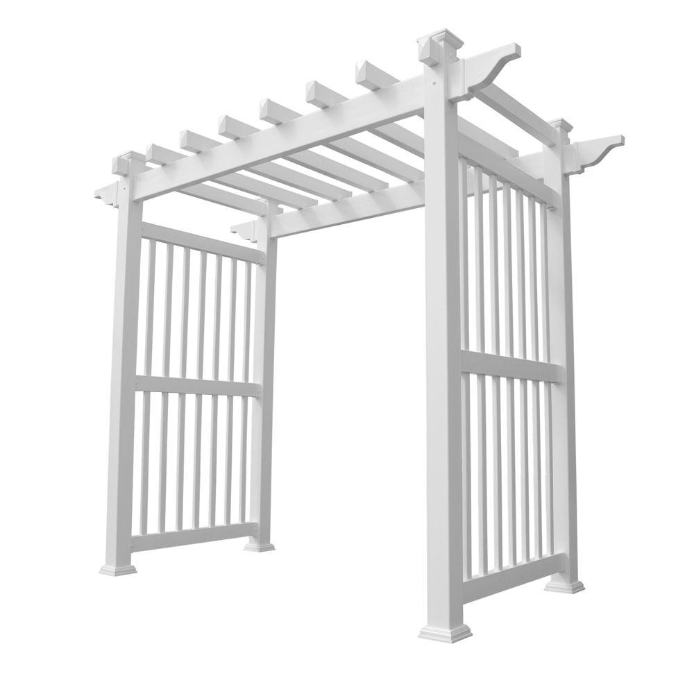 Weatherables Imperial 96 in. x 88 in. Vinyl Arbor