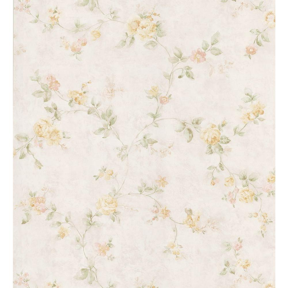 brewster kitchen and bath resource ii offwhite swag trail wallpaper the home depot