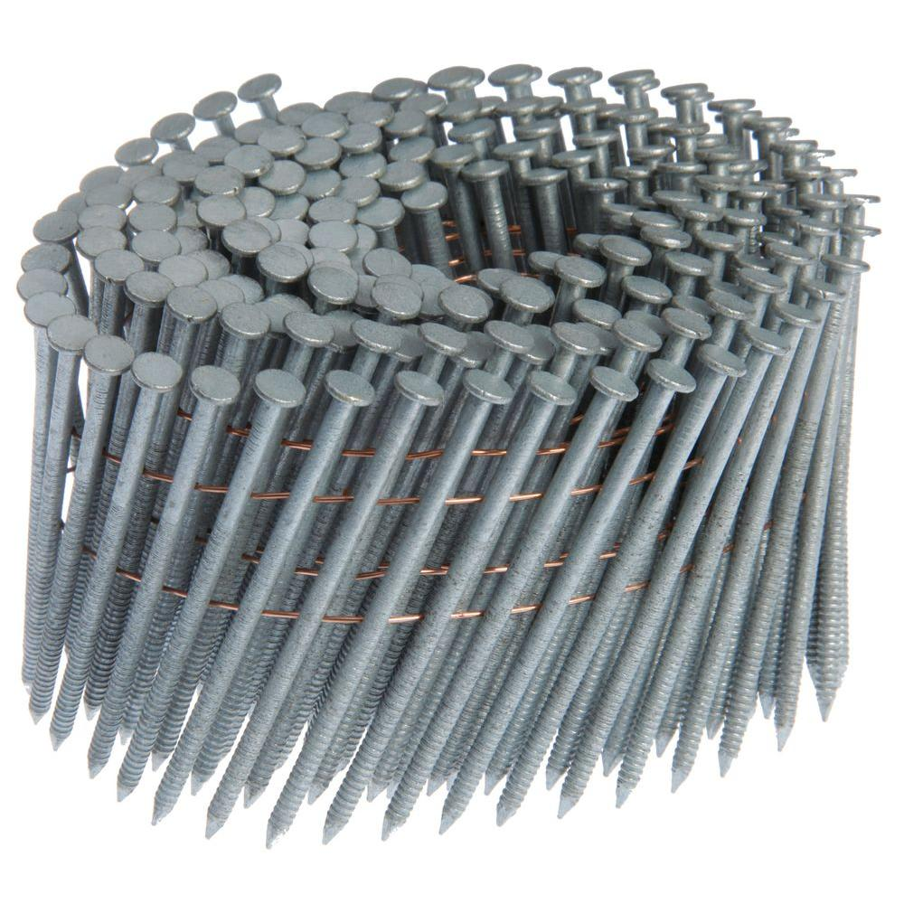 2 in. x 0.092 in. 15° Ring Shank Framing Nails (1200 per ...