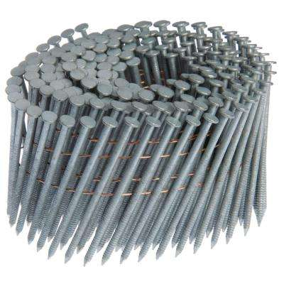 2 in. x 0.092 in. 15° Ring Shank Framing Nails (1200 per Box)