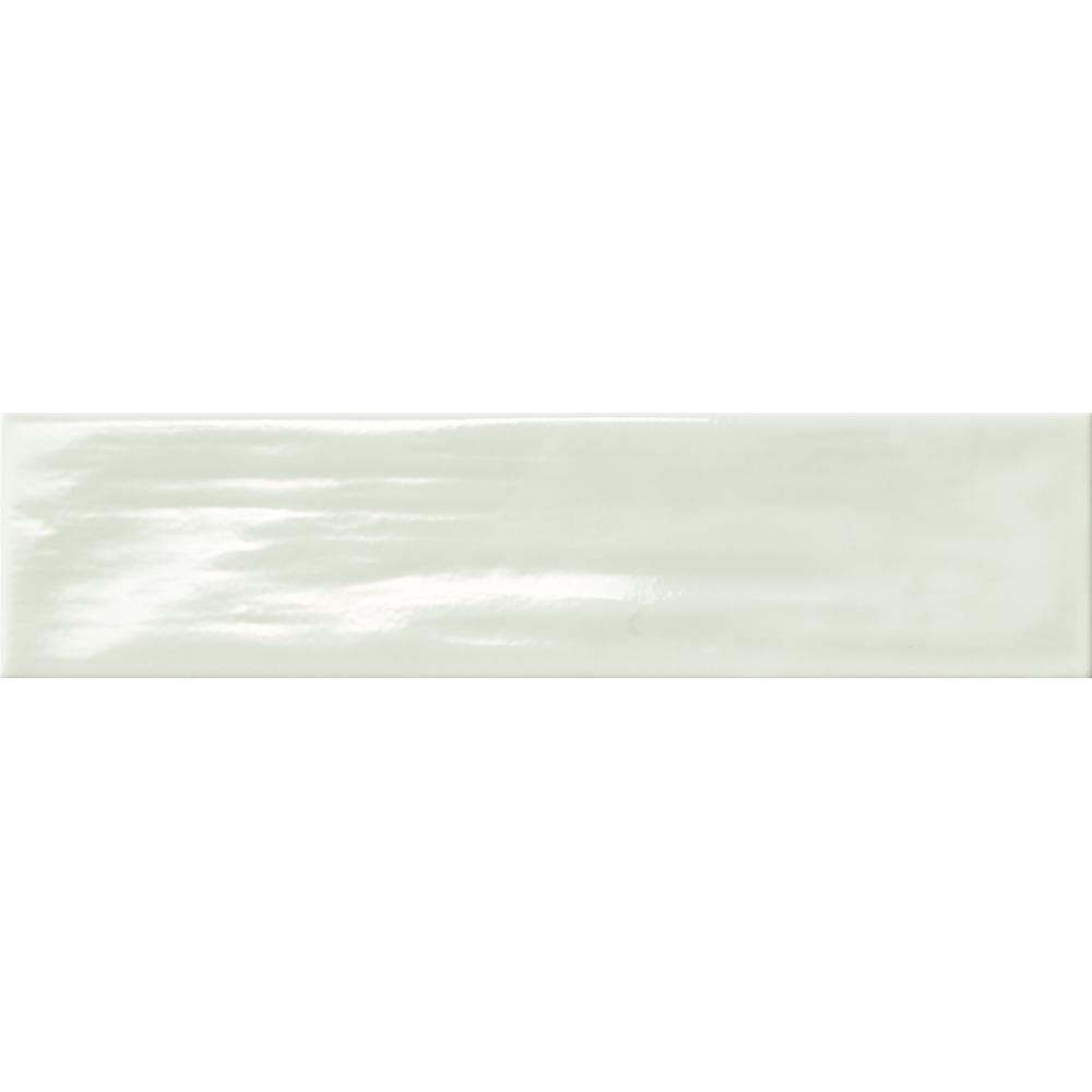 Subway/Green 3.5 in. x 14.75 in. Ceramic Wall Tile