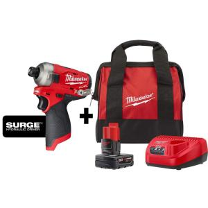 Deals on Milwaukee M12 FUEL SURGE 12-Volt Lithium-Ion Cordless Impact Driver