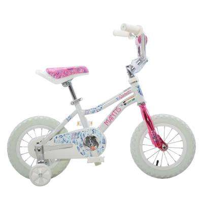 Spritz White Ready2Roll 12 in. Kids Bicycle