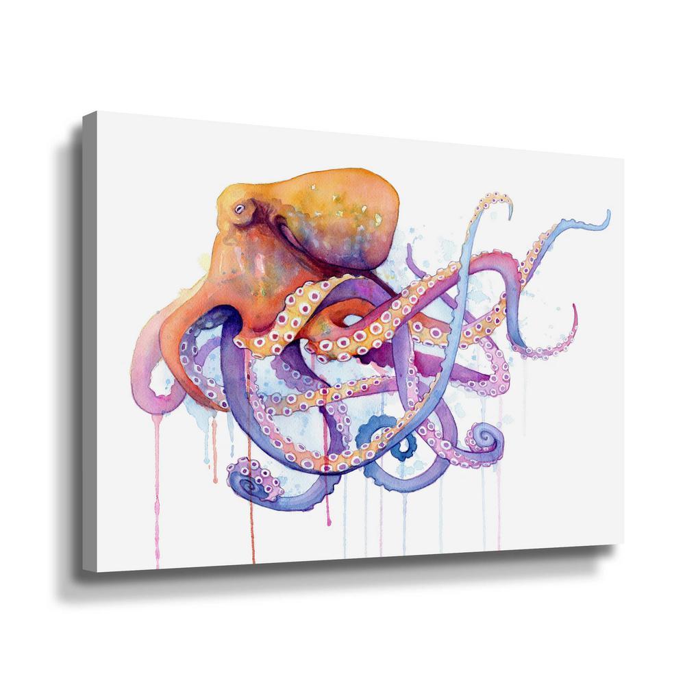 'Octopus 2' by  Sam nagel Canvas Wall Art