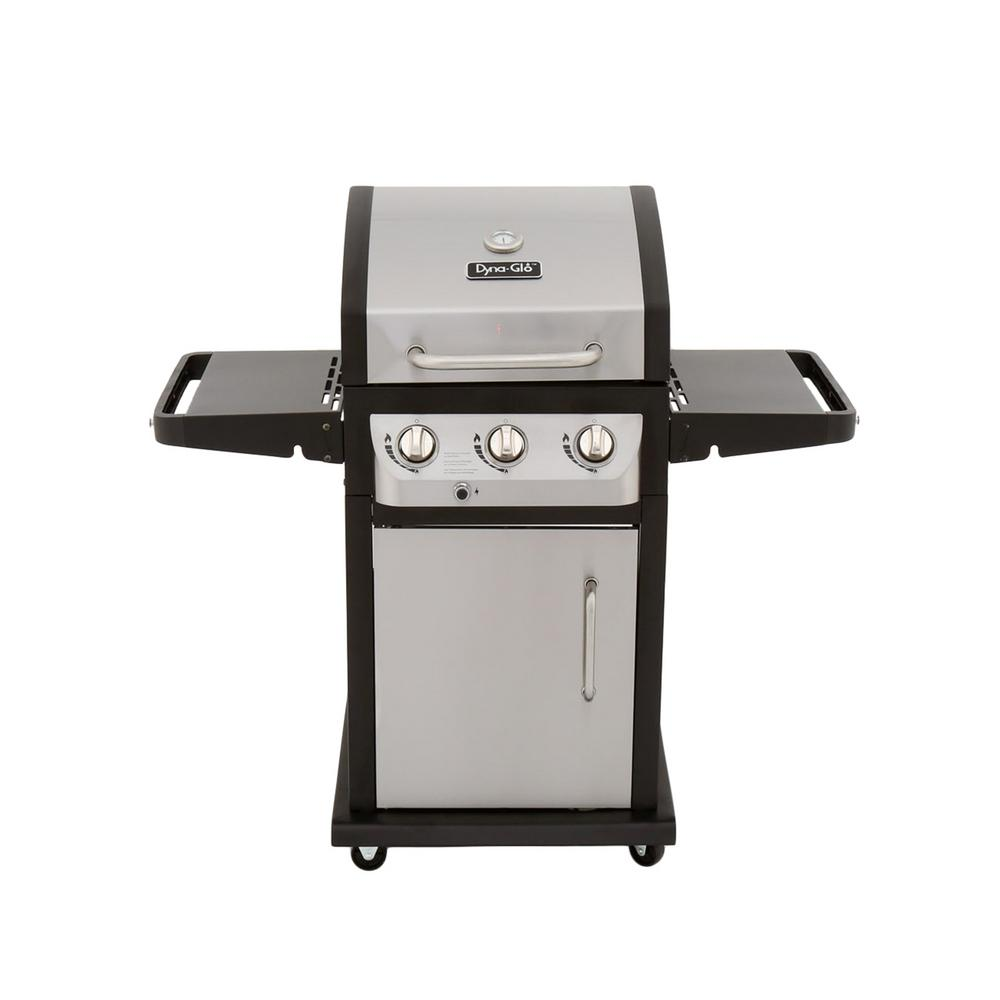 Dyna Glo Smart Space Living 3-Burner Propane Gas Grill in...