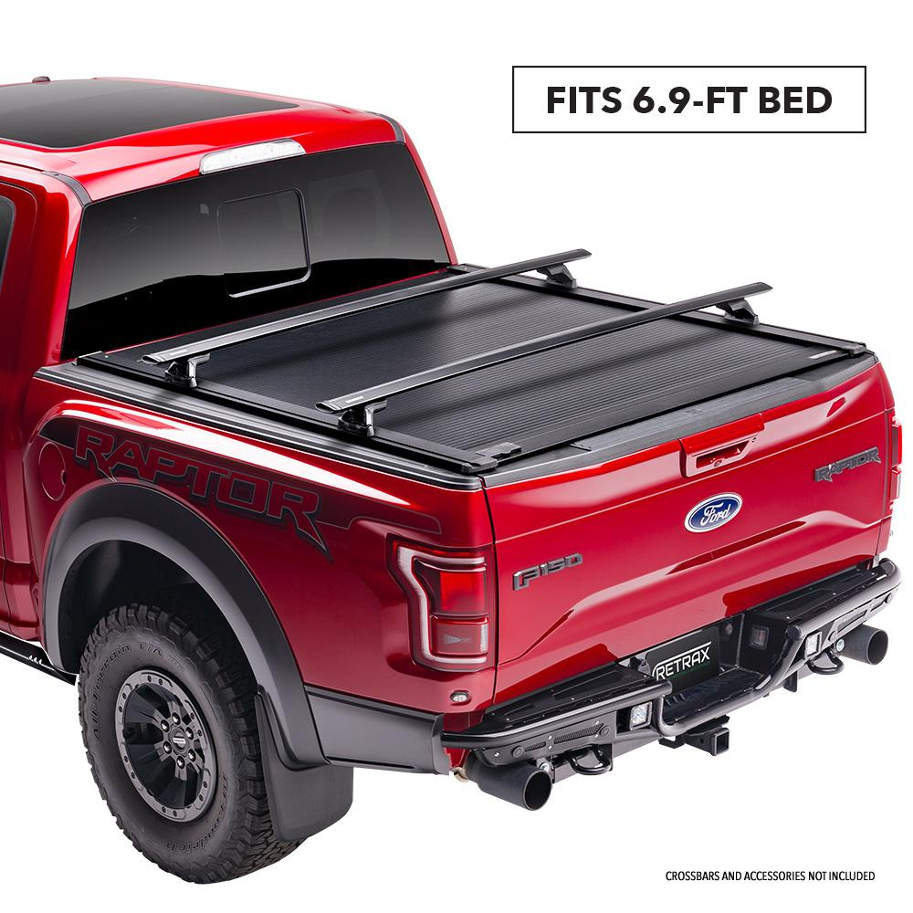 Retrax One Xr Tonneau Cover 17 19 Ford F250 350 6 9 Bed W Out Stake Pockets T 60383 The Home Depot