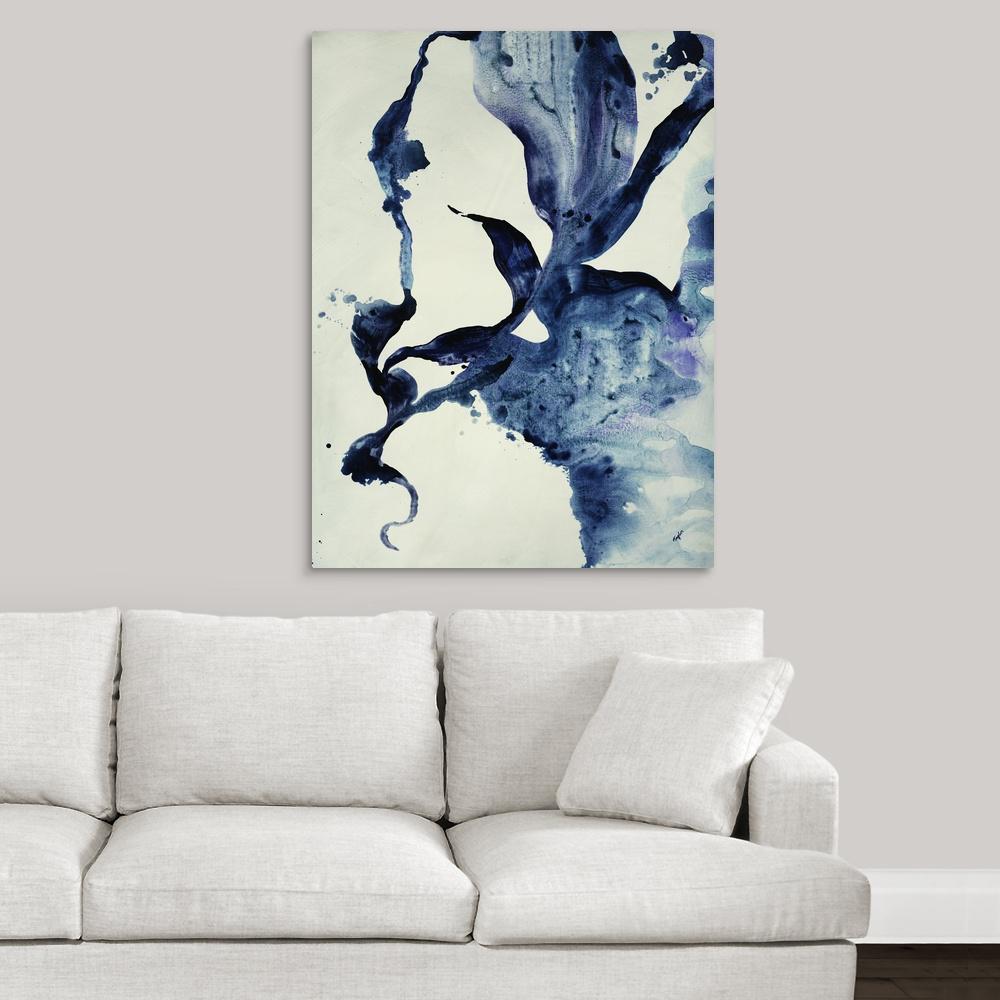 """""""Indigo II"""" by Kari Taylor Canvas Wall Art"""