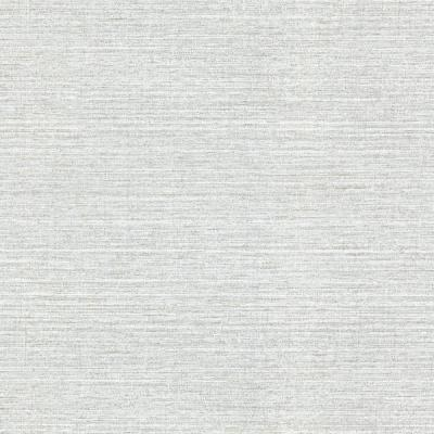 60.8 sq. ft. Madison Grey Faux Grasscloth Wallpaper