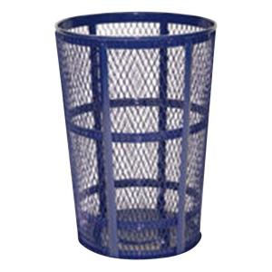 Rubbermaid Commercial Products 45 Gal. Cobalt Blue Round Street Trash Can by Rubbermaid Commercial Products