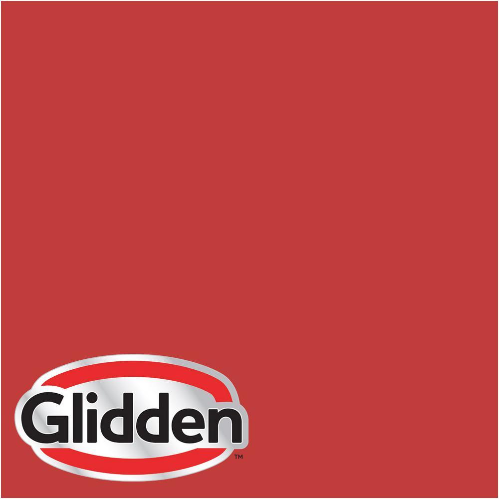 Hdgr53 Red Geranium Satin Interior Paint Sample