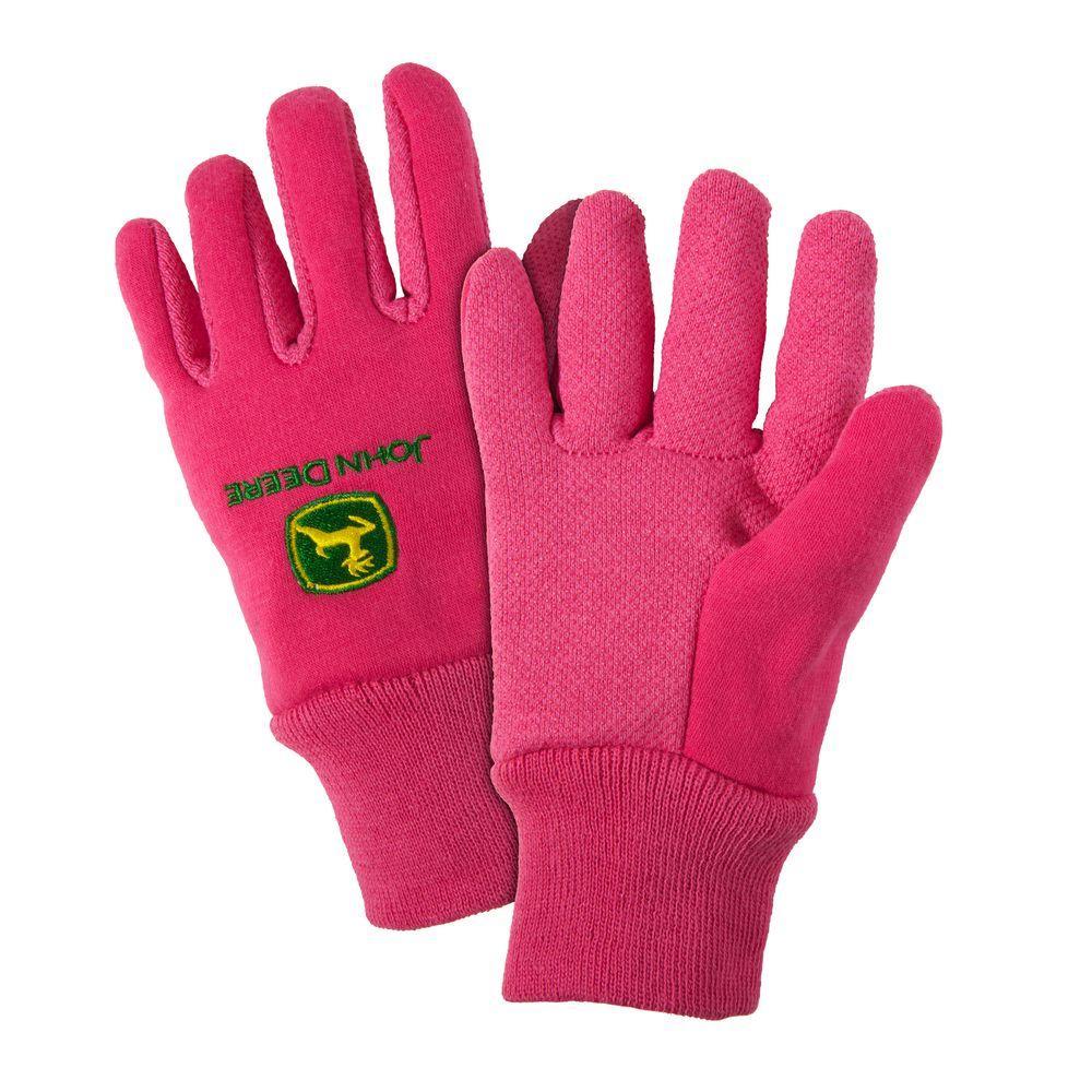 Cotton Jersey Youth Light-Duty Grip Gloves