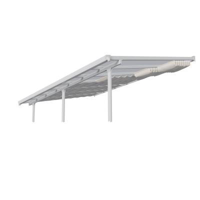 10 ft. x 30 ft. White Roof Blinds for Palram Patio Cover