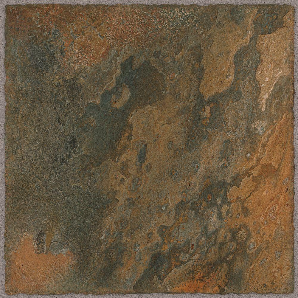 TrafficMASTER Allure Take Home Sample - Cyprus Resilient Vinyl Tile Flooring - 4 in. x 4 in.