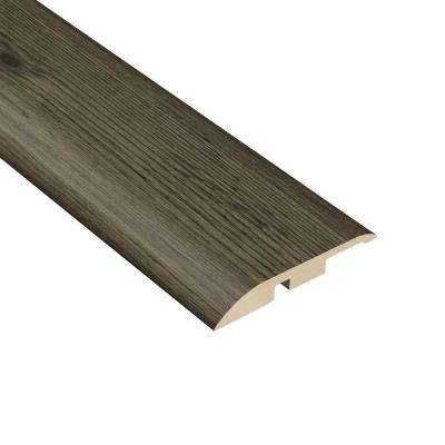 Hickory Lava 1/4 in. Thick x 1-3/4 in. Wide x 94-1/2 in. Length Vinyl Multi-Purpose Reducer Molding