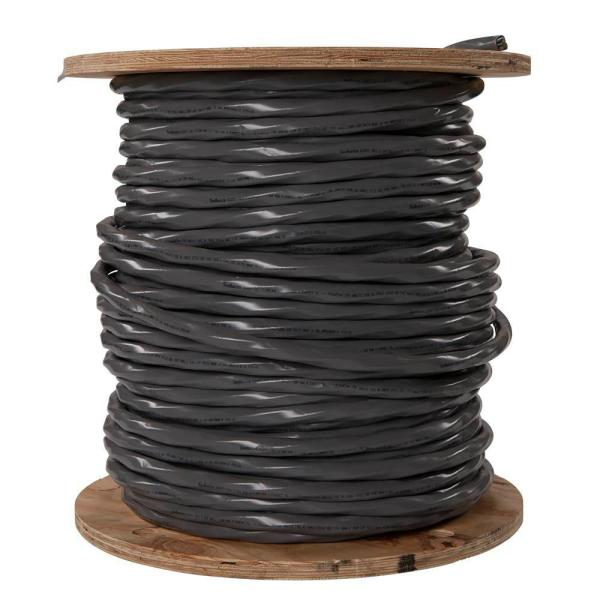 500 ft. 2-2-2-4 Gray Stranded AL SER Cable