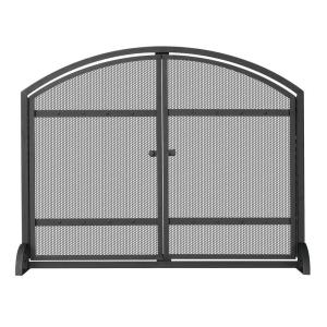 The simplicity of this UniFlame fireplace screen