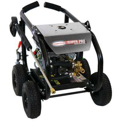 SuperPro Roll-Cage 3600 PSI at 2.5 GPM GB210 AAA Triplex Plunger Gas Pressure Washer