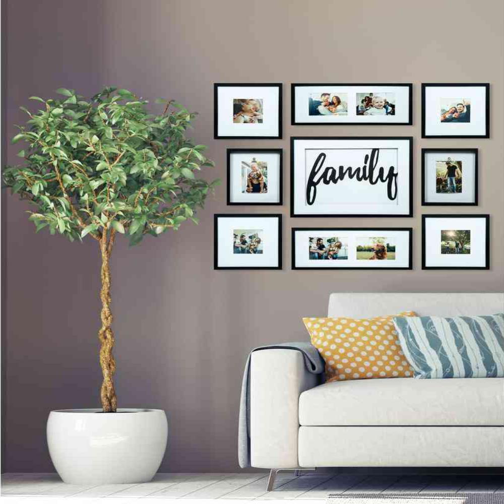 Family Decor Black Collage Kit Picture Frame