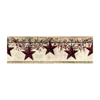 Best of Country Hanging Star Wallpaper Border