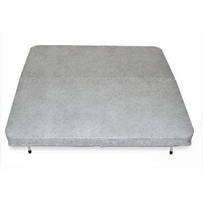 84 in. x 84 in. x 4 in. Spa Cover in Grey