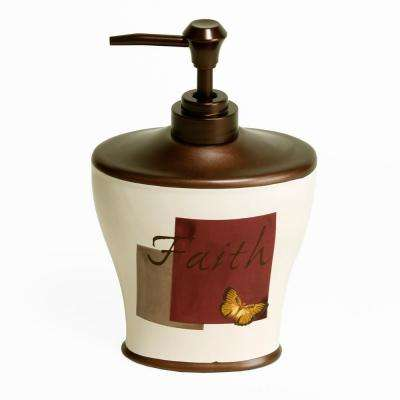 Grace Free Standing Stoneware Lotion Dispenser
