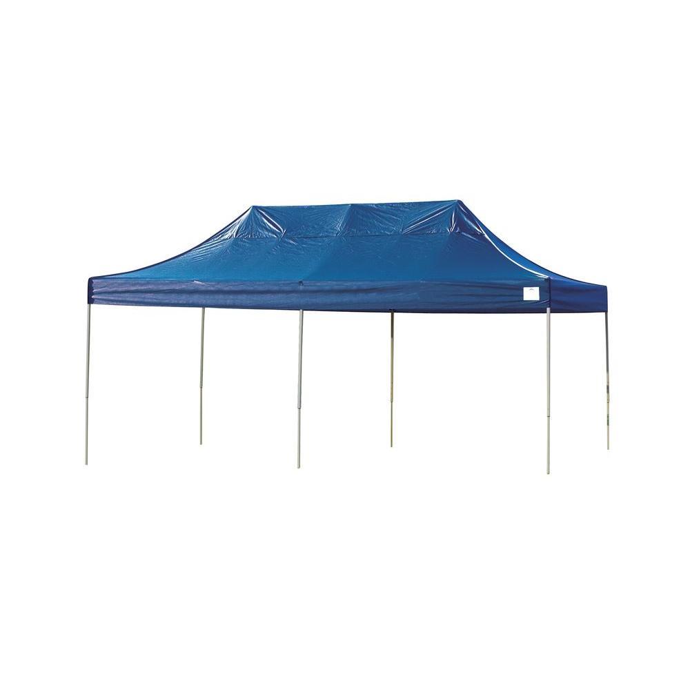 ShelterLogic Pro Series 10 ft. x 20 ft. Blue Straight Leg Pop-Up  sc 1 st  The Home Depot & ShelterLogic Pro Series 10 ft. x 20 ft. Blue Straight Leg Pop-Up ...