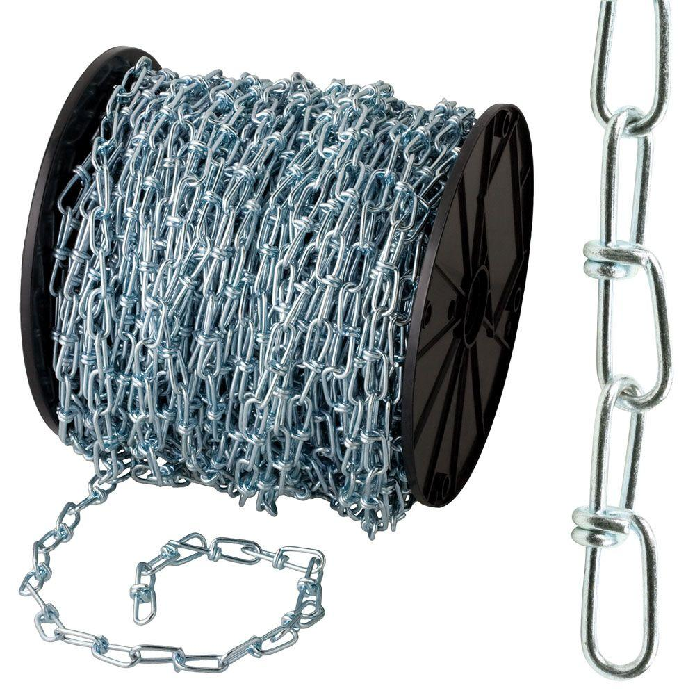 #2/0 x 175 ft. Zinc-Plated Double Loop Chain