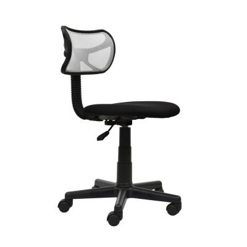 White Student Mesh Task Office Chair
