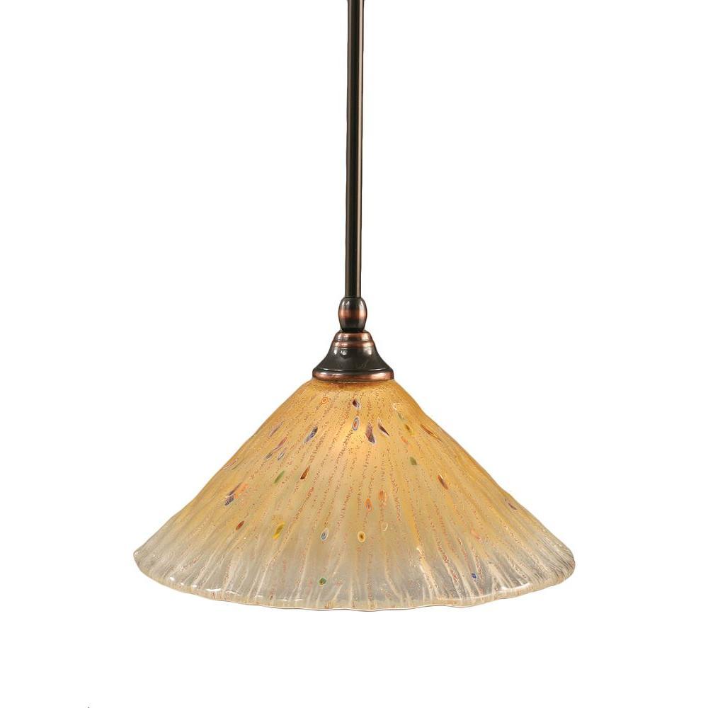 Concord 1-Light Black Copper Pendant  sc 1 st  The Home Depot & Copper - Pendant Lights - Lighting - The Home Depot azcodes.com