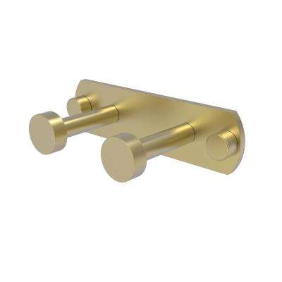Fresno Collection 2-Position Multi Hook in Satin Brass