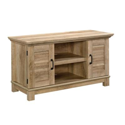 Garden Villa 47 in. Orchard Oak Wood TV Stand Fits TVs Up to 50 in. with Storage Doors