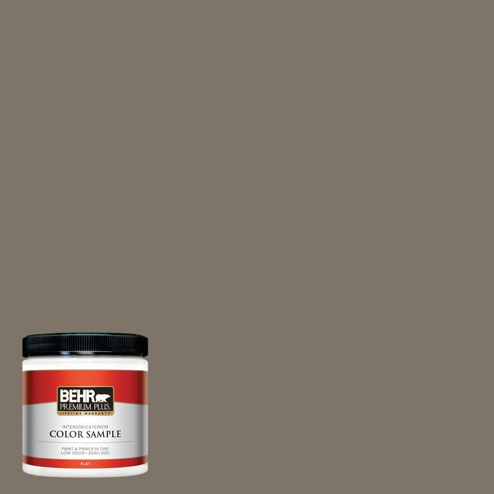 BEHR Premium Plus Home Decorators Collection 8 oz. #HDC-NT-05 Aged Olive Zero VOC Interior/Exterior Paint Sample