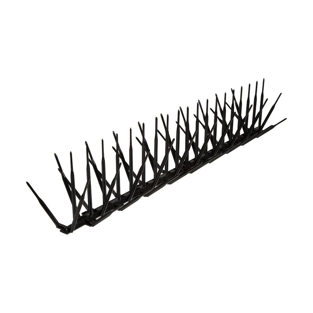bird b gone black plastic bird spike - 50 ft  x 7 in -bbg2000-7-blk