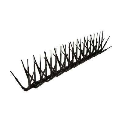 Black Plastic Bird Spike - 10 ft. x 7 in.