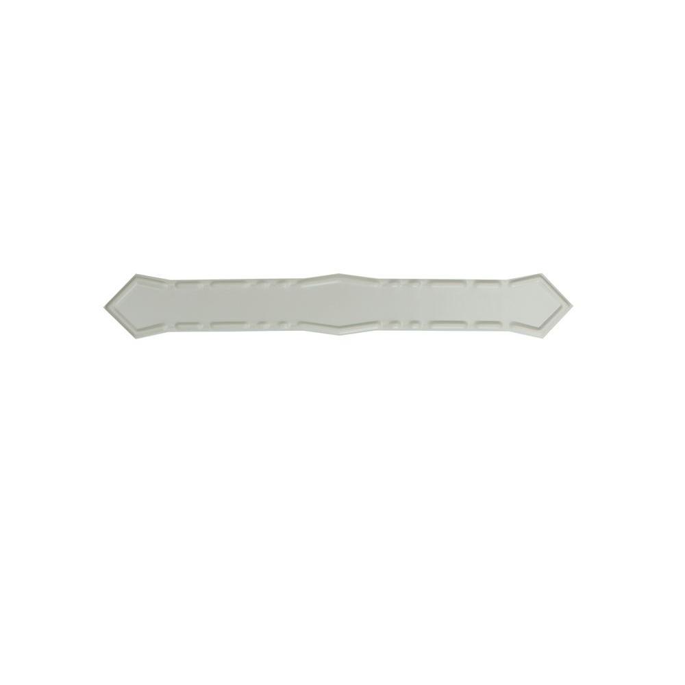 Spectra Metals Linen Aluminum Diamond Downspout Band