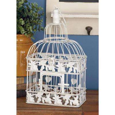 Filigreed Metal Birdcage Set (2-Pack)