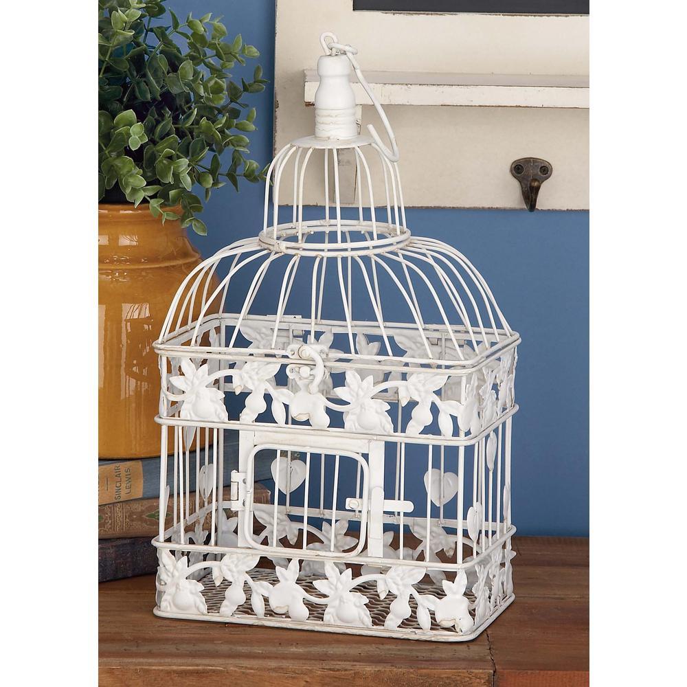 Filigreed Metal Birdcage Set (2-Pack)