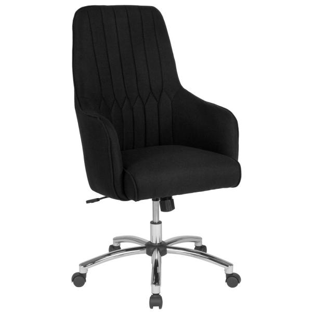 Flash Furniture Black Fabric Office/Desk Chair CGA-BT-232138-BL-HD